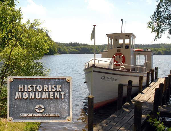 GL Turisten Historisk Skibs Monumt