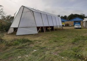 Gl Turisten har fået telt over sig